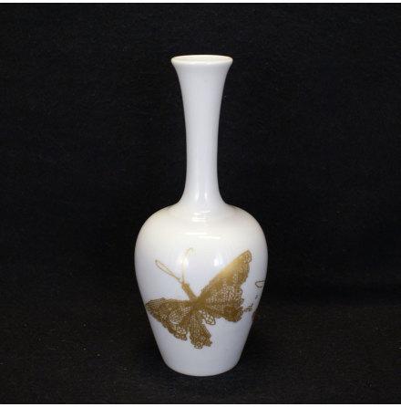 fler föremål Vas fjärilar i guld