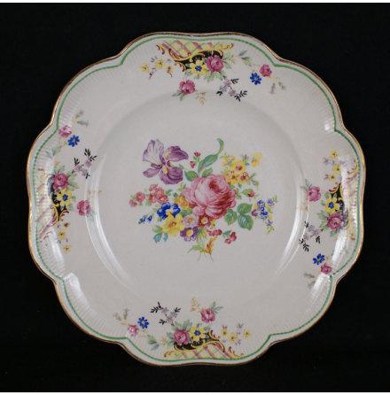 fler föremål Assiett blommor