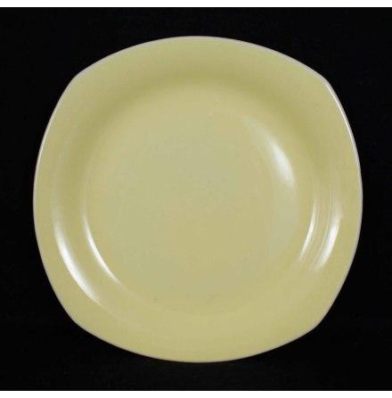 gul glasyr Assiett 18 cm