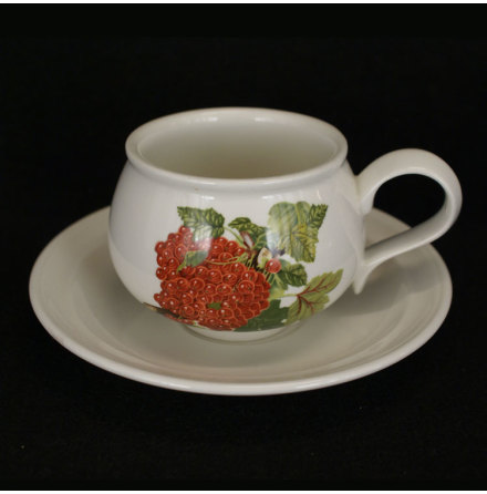 Pomona Kaffekopp med fat röda vinbär