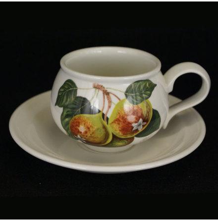 Pomona Kaffekopp med fat päron