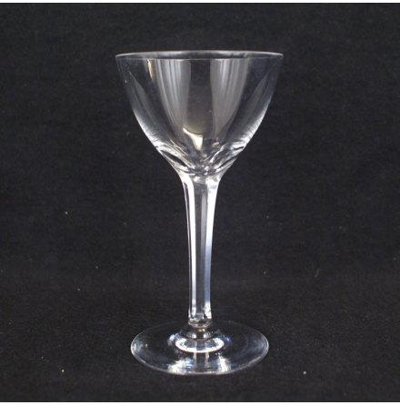 fasettslipat Starkvinsglas slipat ben