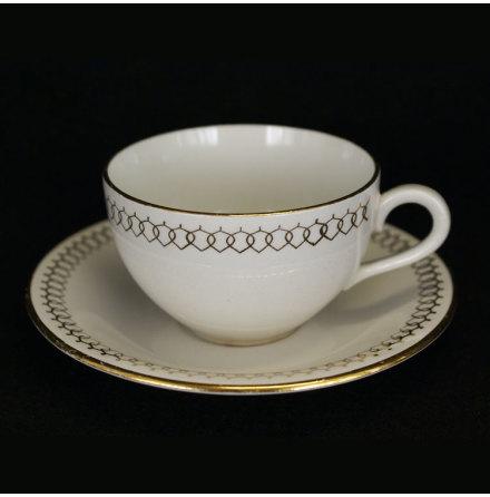 Arista Kaffekopp med fat