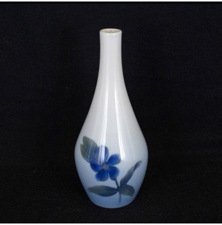 fler föremål Vas blomma blå