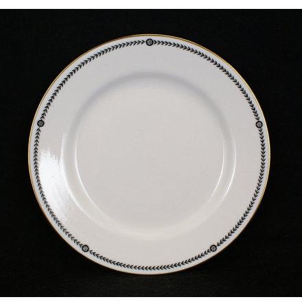 bård svart Assiett 18 cm
