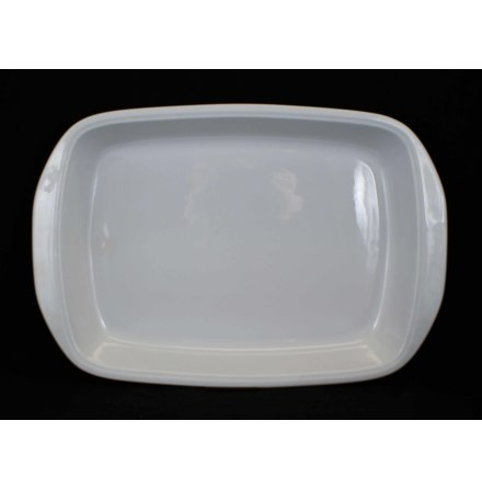 fler föremål Ugnsform vit glasyr