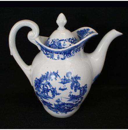 fler föremål Kaffekanna kinesiskt motiv