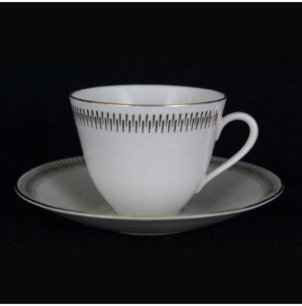 Capitol Kaffekopp med fat