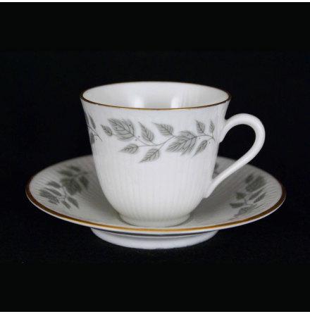 Toscana Kaffekopp med fat